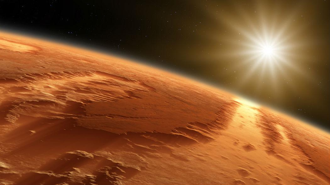 Acqua su Marte: un tempo dovuta a presenza di nuvole