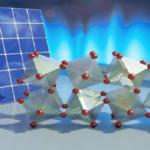 Cristalli girasole per pannelli solari