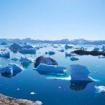 Groenlandia ghiacciai sciolti